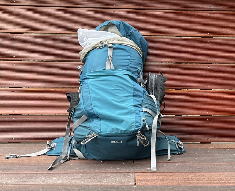 Gewicht sparen beim Pilgerrucksack packen