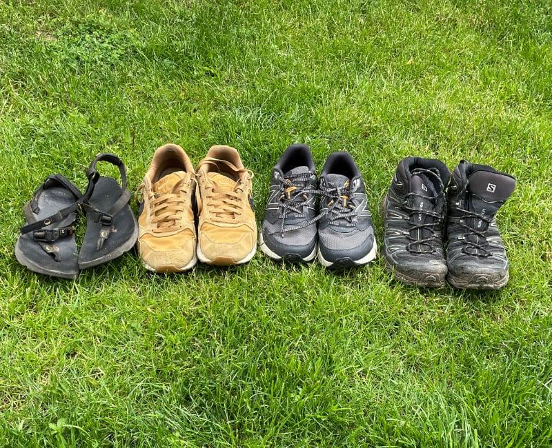 Die passenden Schuhe für den portugiesischen Jakobsweg
