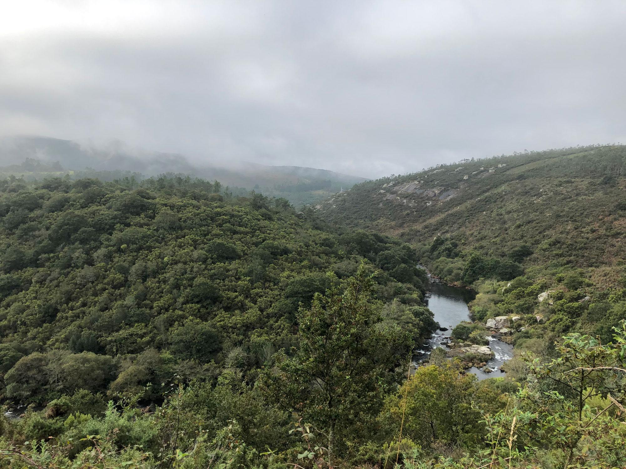 Auf dem Camino Fisterra noch vor Cee