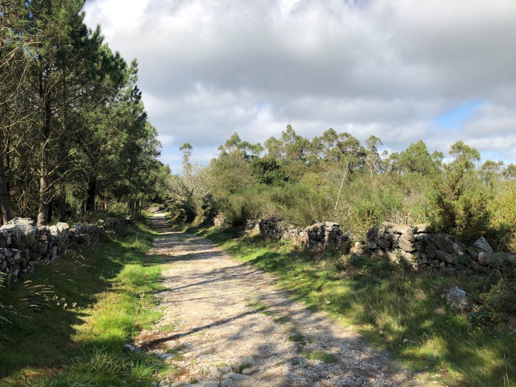 Pilgerweg Santiago - Finesterre hinter Hospital