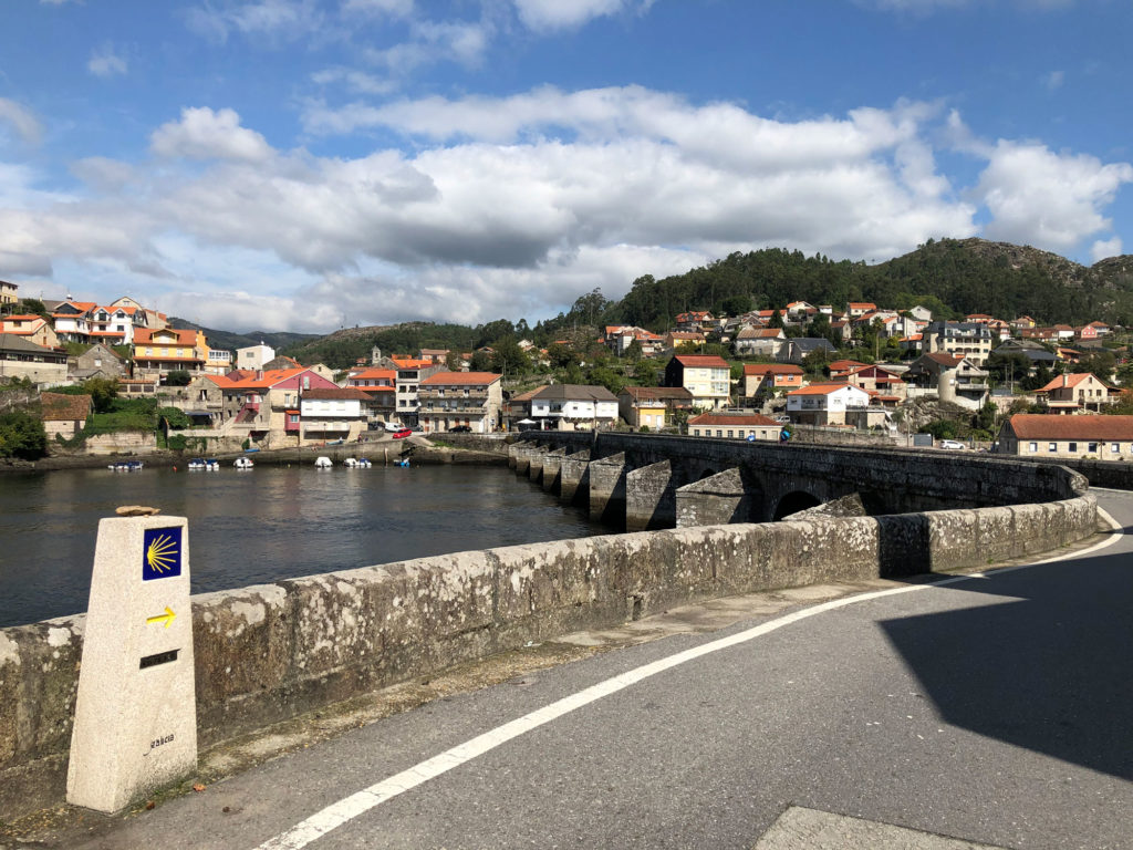 Brücke in Pontevedra