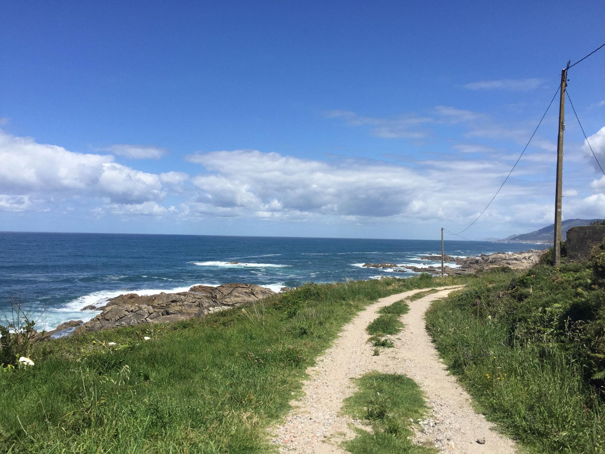 Küstenweg hinter A Guarda
