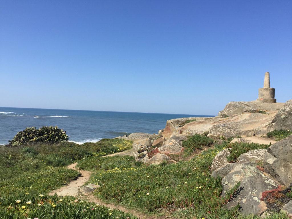 Portugiesischer Jakobsweg am Meer