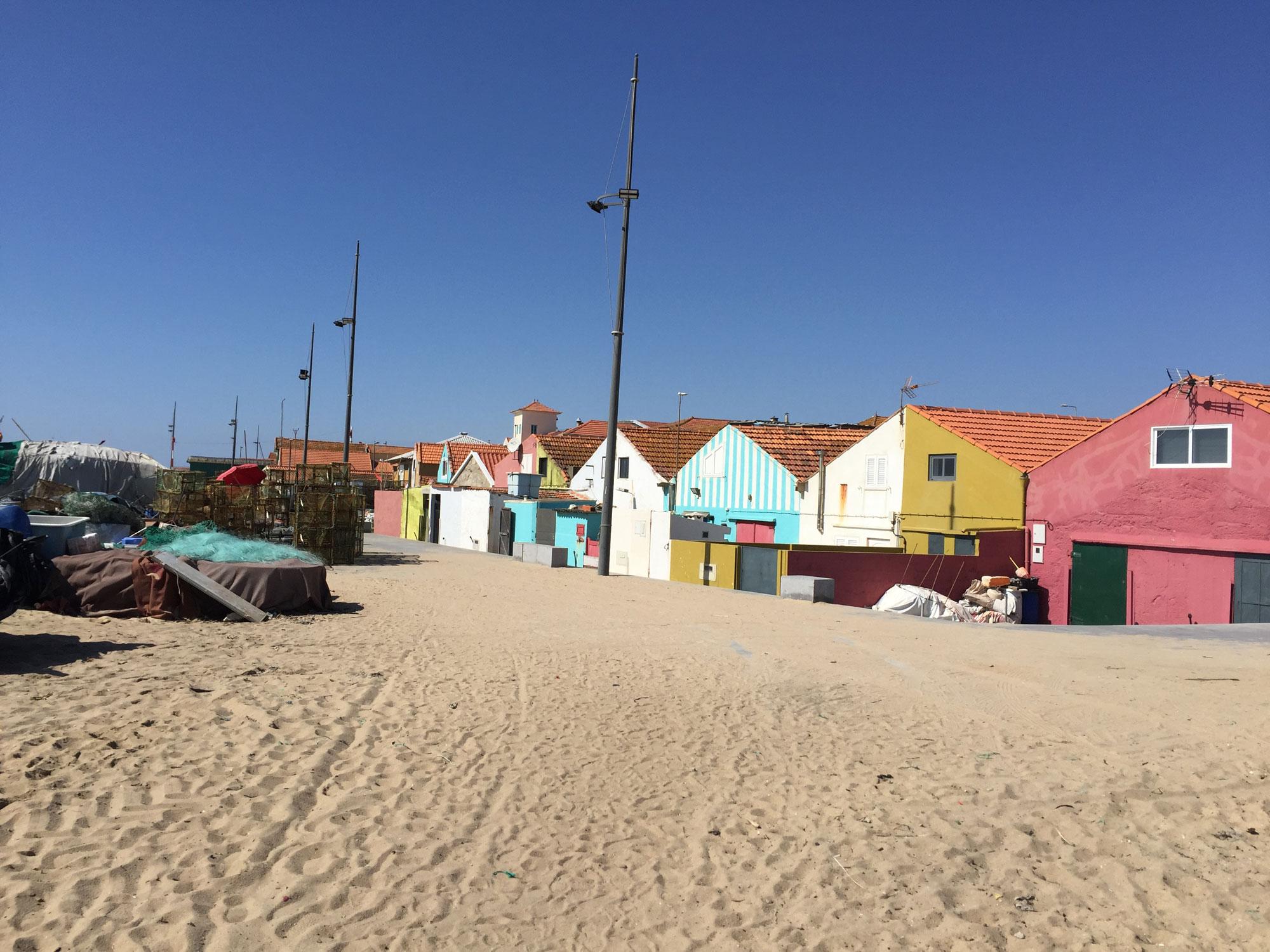 Fischerdorf Praia de Angeiras