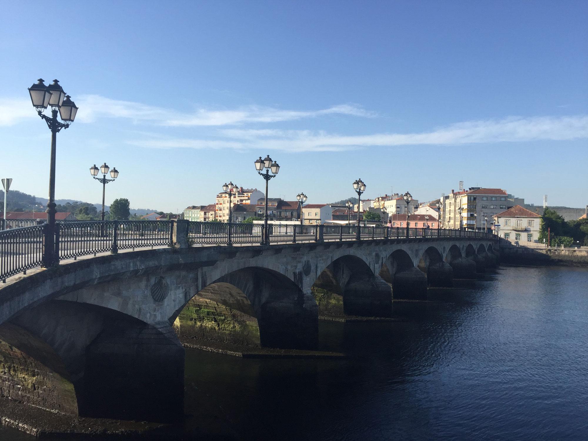 Pontevedra auf dem gemeinsamen Abschnitt des Camino portugues