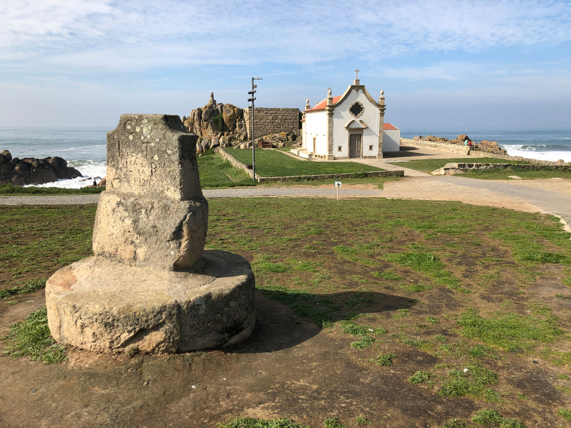 Küstenweg Portugal bei Matosinhos