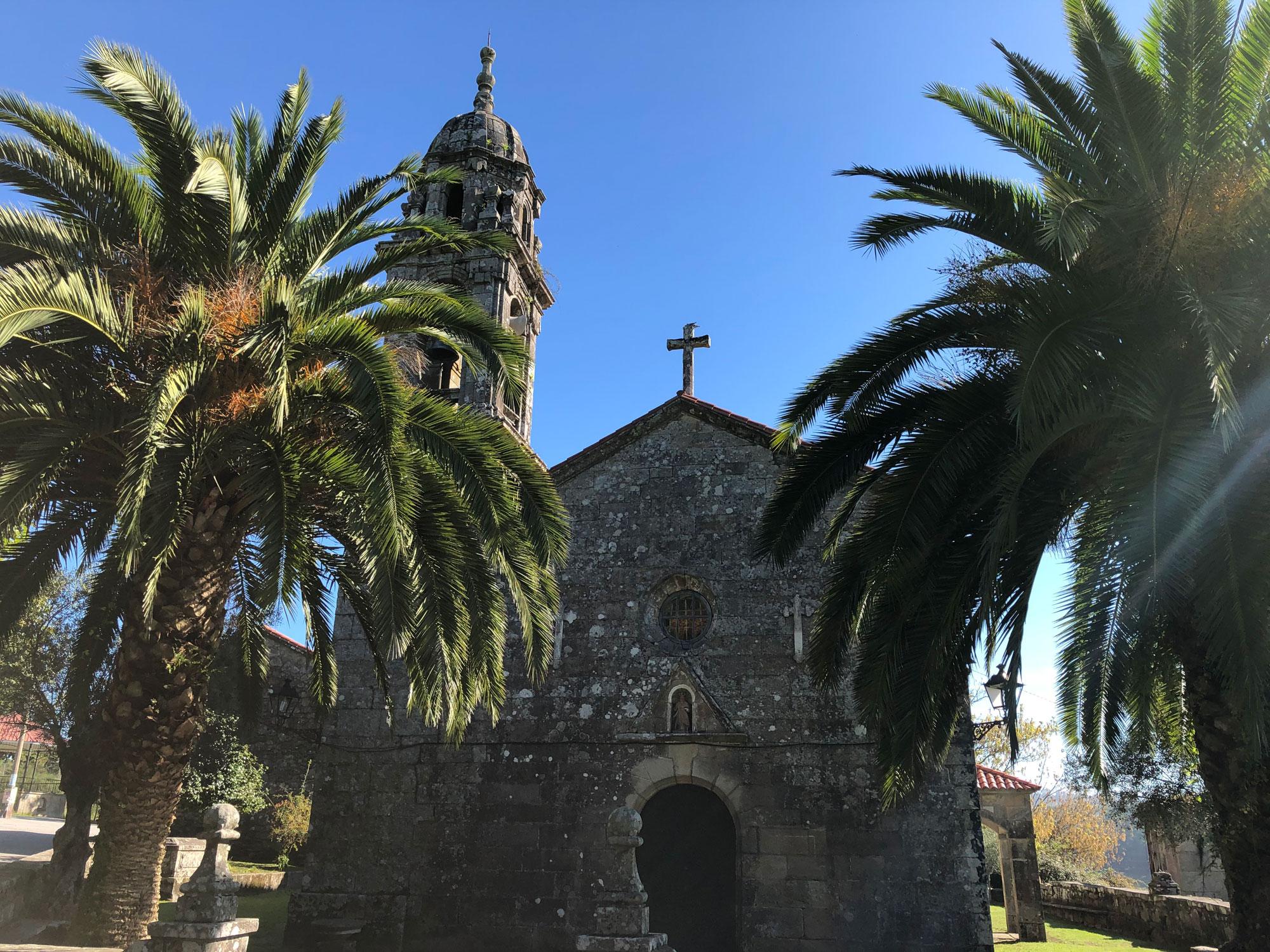 Kirche auf dem gemeinsamen Weg zwischen Caldas und Padron