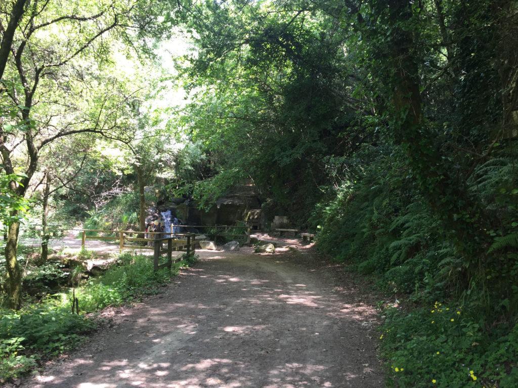 Wasserfall zwischen Vigo und Redondela