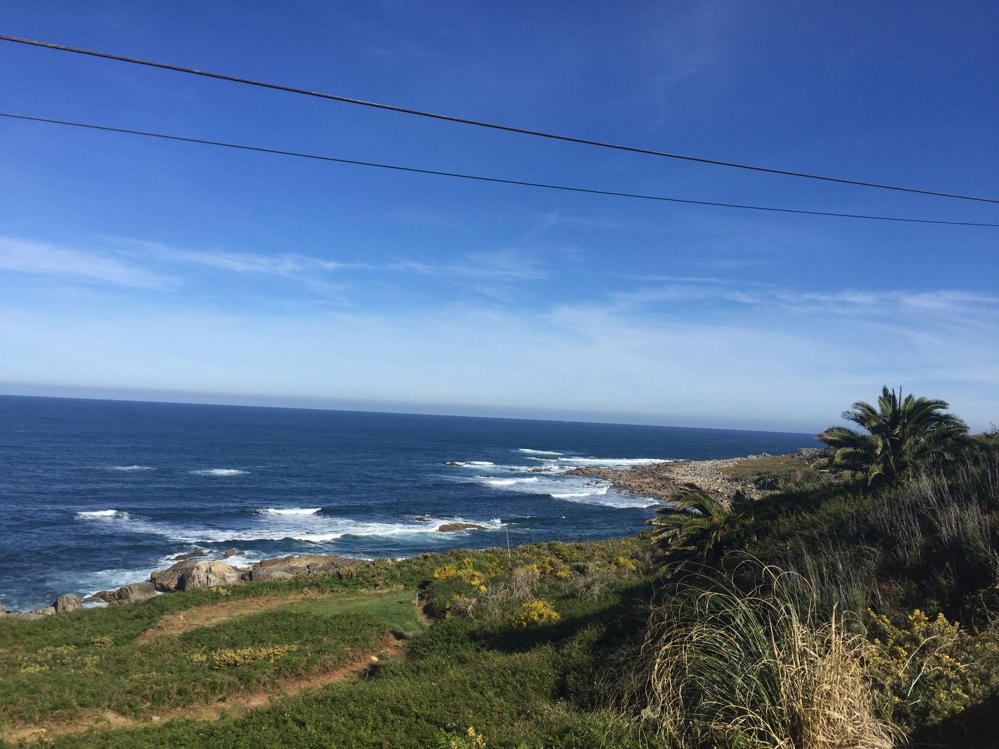 Südlich von Baiona direkt am Meer in traumhafter Ruhe